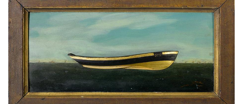 Half Hull Model by Jas.W Folger