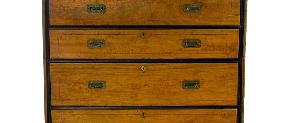 Chinese Export Camphorwood brass bound chest