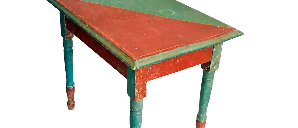 Small Painted One Drawer Table