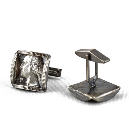 Washington Cufflinks by Stacy Lee Webber