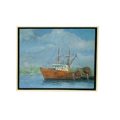 """""""Trawler, It ain't easy"""" by Robert Frazier"""