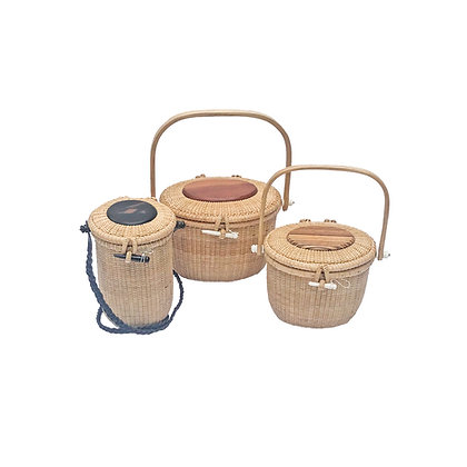 Nantucket Basket Purses by Terry Sylvia