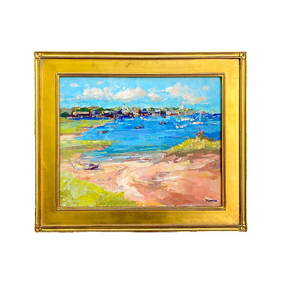 """""""Town from Monomoy"""" by David Lazarus"""