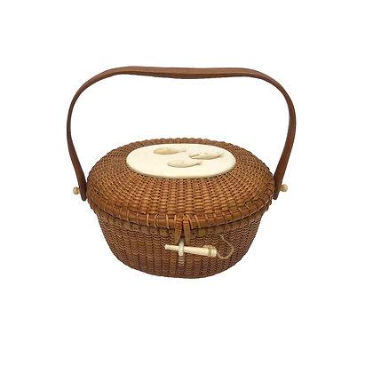 """6"""" """"Cocktail"""" basket by Jose Reyes'"""