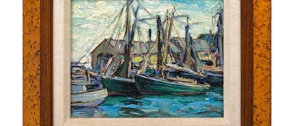 Island Service Wharf by Anne Congdon