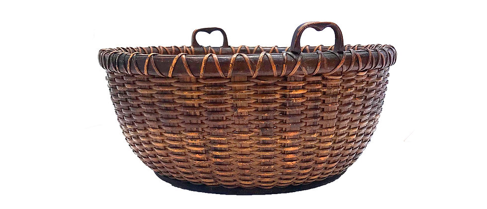 Early Dated Work/Sewing Basket