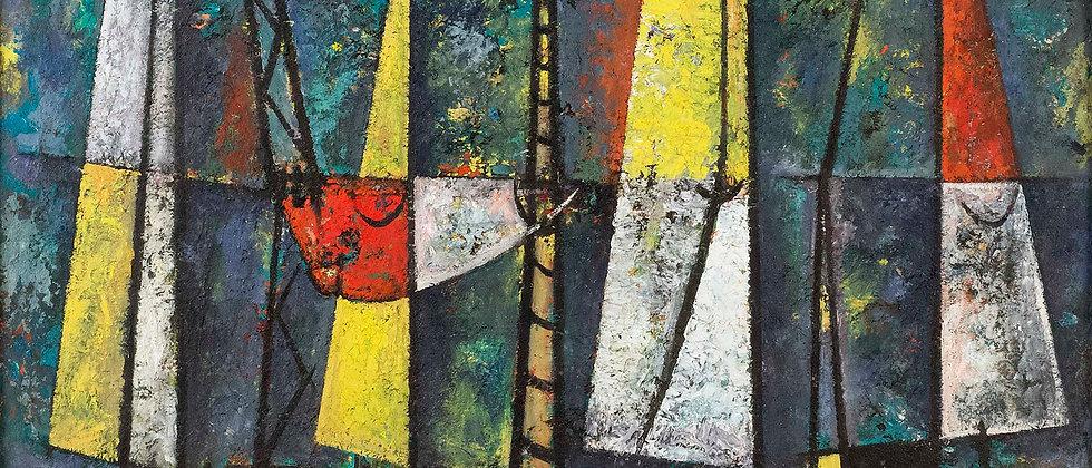 Fishing Fleet by Charles Green Shaw