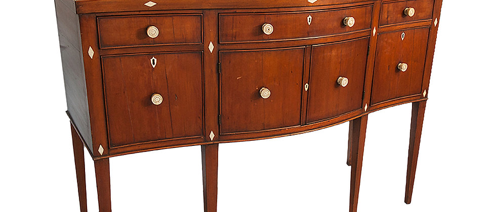 Unique Federal Cherry Sideboard