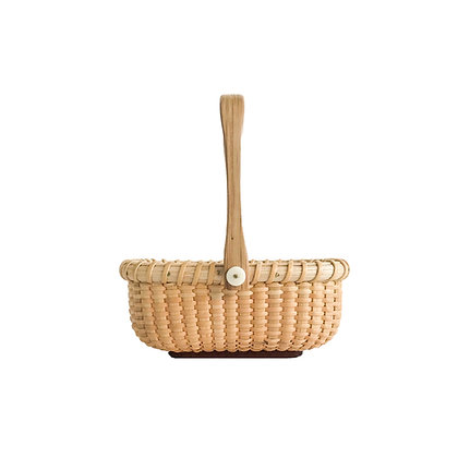Miniature and Rectangular Nantucket Basket by Bill and Judy Sayle