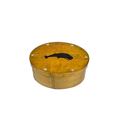 Oval Vintage Box with contemporary inlay by Jim Vaccarino
