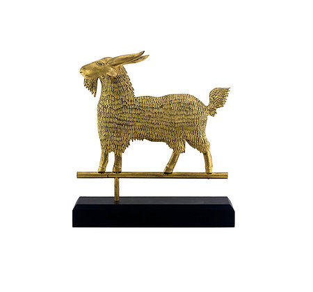 Gilded Billy Goat by Will Kautz