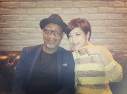 with Kirk Whalum at Blue Note Tokyo