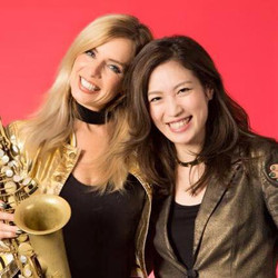 with Candy Dulfer