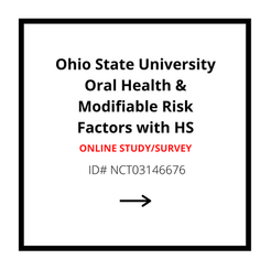 Ohio State University Oral Health & Modifiable Risk Factors with HS