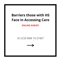 Barriers those with HS Face in Accessing Care