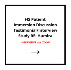 HS Patient Immersion Discussion RE: Humira