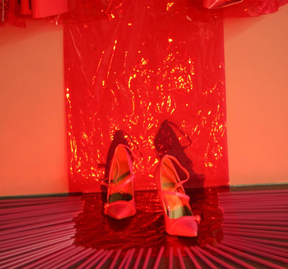 Pink Lady Installation 3