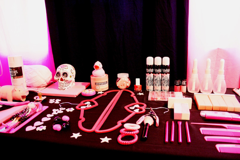 pink display III