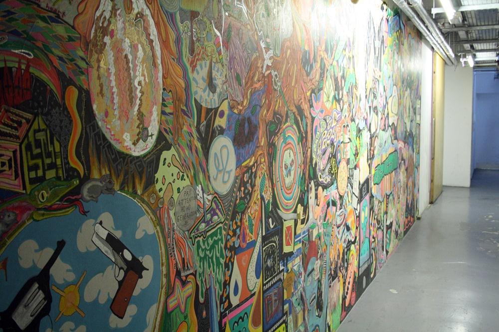 Space Studios Street Art