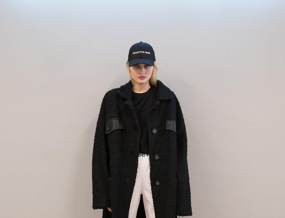 Bethany boucle coat