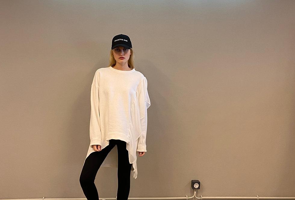 Kitty sweatshirt white