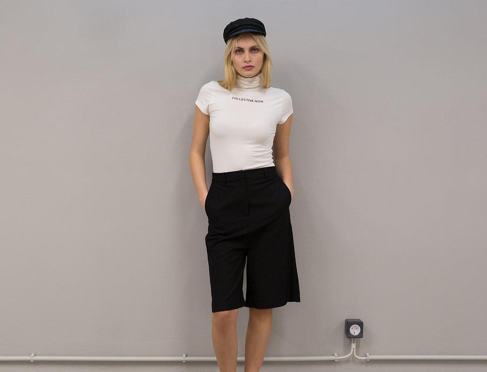 Lila bermuda shorts
