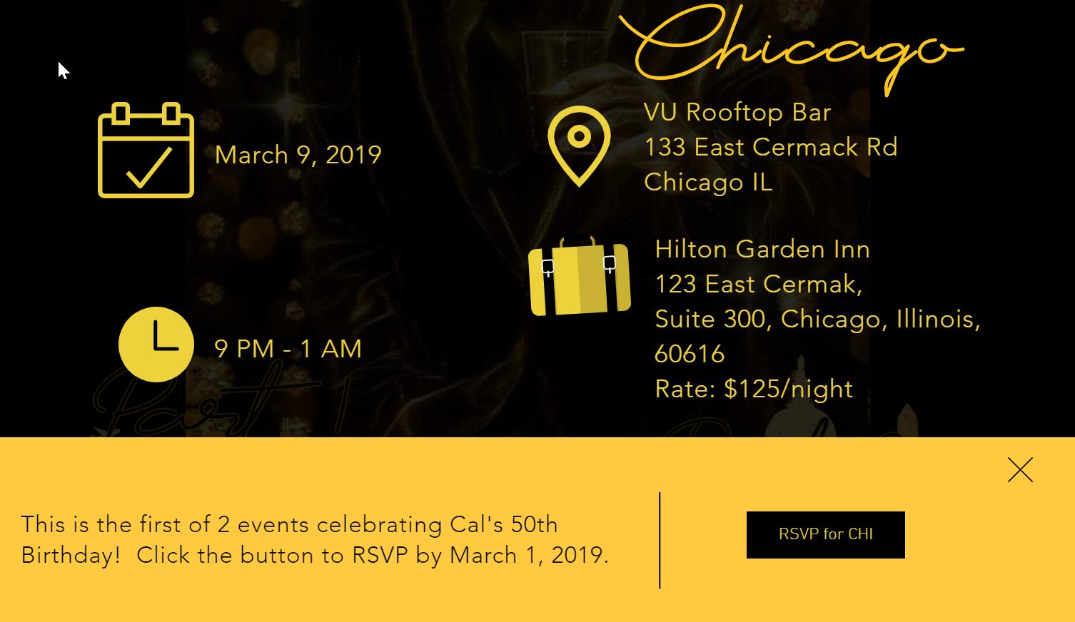 eRSVP Event Details