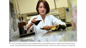 Matéria no Jornal Terra da Gente: Pesquisa inédita comprova que azeite de abacate pode reduzir coles