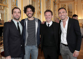 Sébastien Castro, Rudy Milstein, Sébastien Azzopardi, Thierry Lopez.jpg
