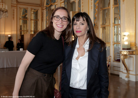 Fleur Houdinière et Mathilda May