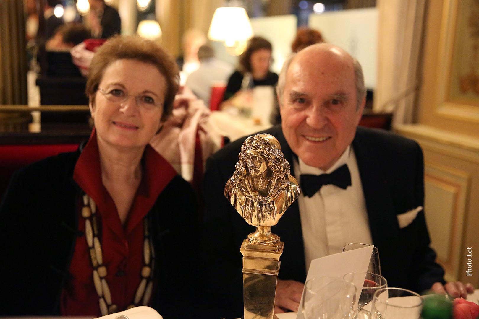 Suzanne Sarquier et Jean-Claude Houdinière
