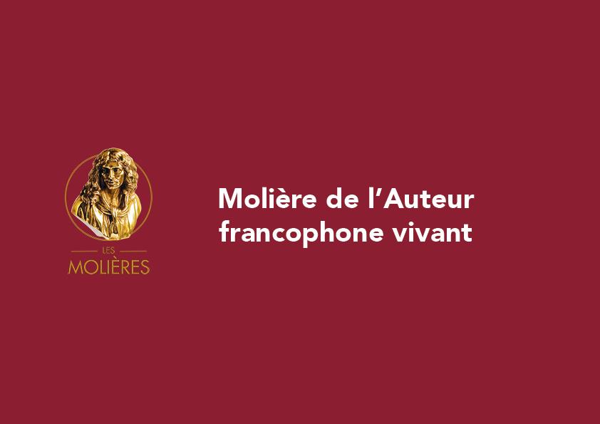 moliere auteur francophone alive