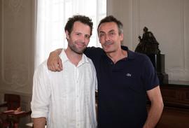 Tristan Petitgirard et Benoit Solès