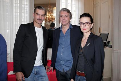 François Vincetelli et Constance Dollé