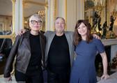 Mademoiselle Molière. De gauche à droite : Nathalie Szewczyk, Gérard Savoisien, Anne Bouvier