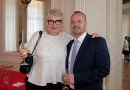 Nathalie Szewczyk et Christophe Segura