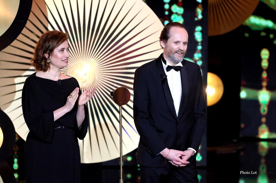 Emmanuelle Devos et Jean-Marc Dumontet