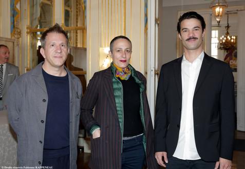 Marcial Di Fonzo Bo, Elise Vigier et Valentin de Carbonnières