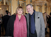 Michèle Bernier et bernard Fau