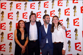 Anne-Elisabeth Blateau, Pierre Palmade, Benjamin Gauthier et Camille Cottin