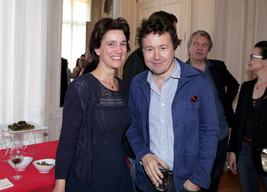 Charlotte Rondelez et Ivan Calbérac