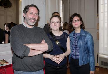 Alexandre Denis, Pauline Gallot et Juliette Azzopardi