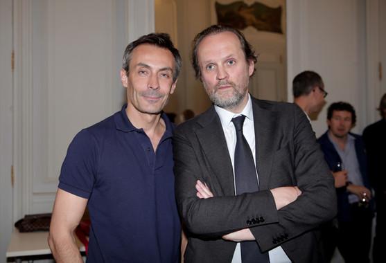 Benoit Solès et Jean-Marc Dumontet