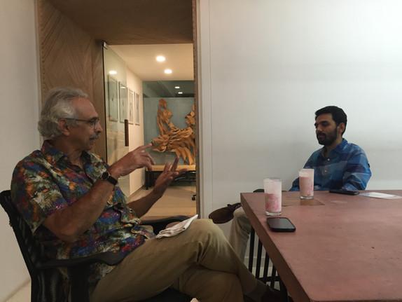Shahrukh Mistry visits andblack