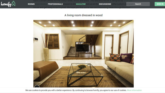 Homify - A custom made Indian home full of surprise