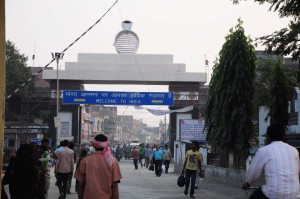 Arrival at the Indian Border