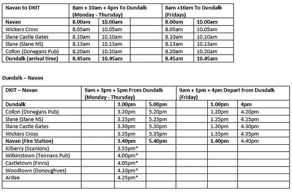 Dundalk IT Navan TimeTable 002.jpg