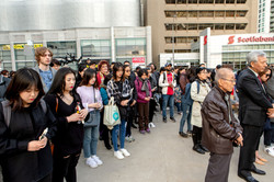At Mel Lastman Square (Photo by Hwyseung Ahn reporter)