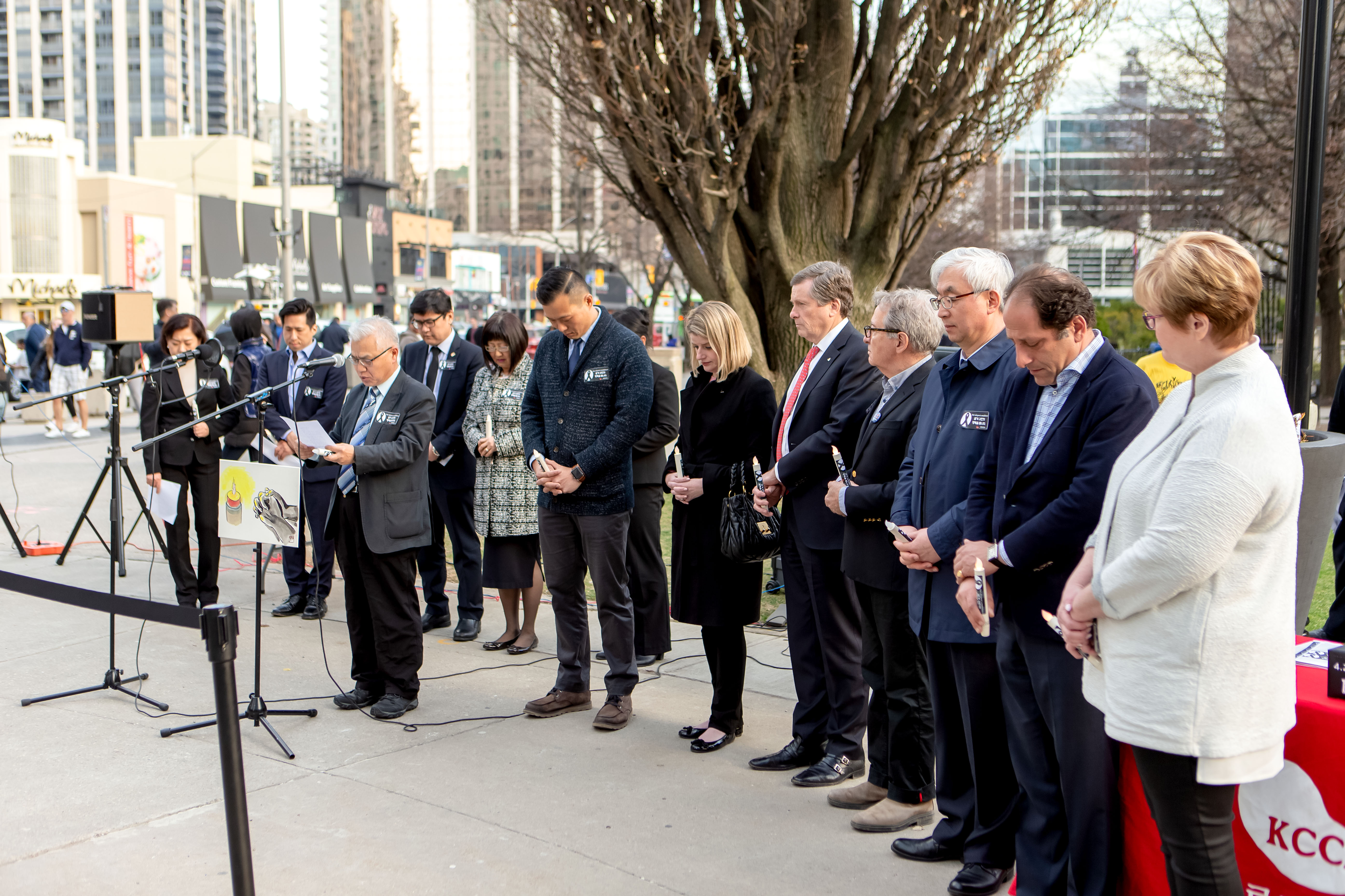 Words of Prayer (Photo by Hwyseung Ahn reporter)