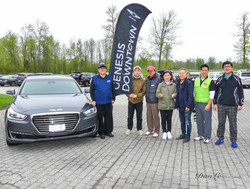Genesis Car Prize for Hole-in-one